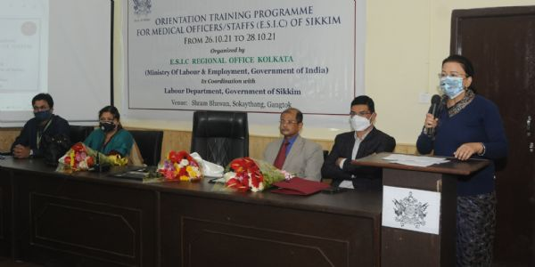 ईएसआई विषय तीन दिवसीय अभिसंस्करण प्रशिक्षण कार्यक्रम शुरू